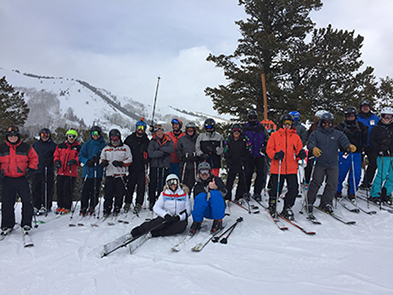 Skiing with Jonny Moseley at Squaw